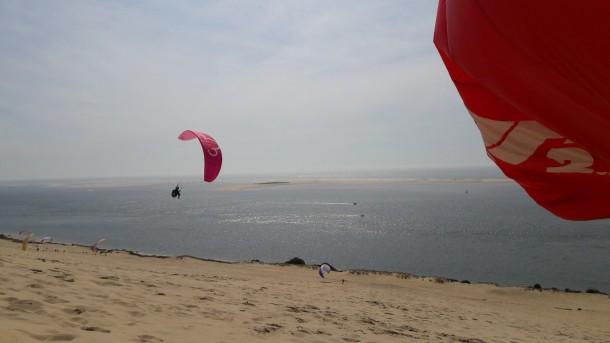 stage soaring parapente dune du pyla