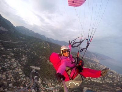 Sellette reversible parapente