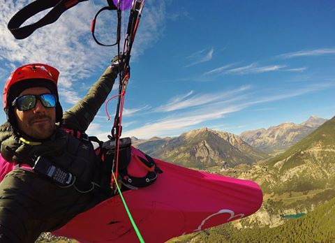 le cocon parapente little cloud en fuschia