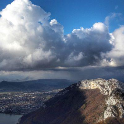 cumulus en formation sur veyrier