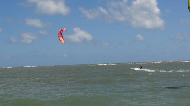kite pendant stage parapente bresil