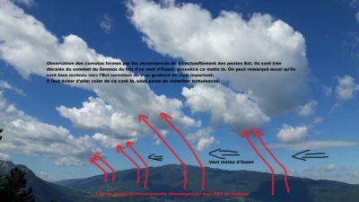 cumulus sous le vent