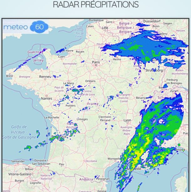 radar précipitation